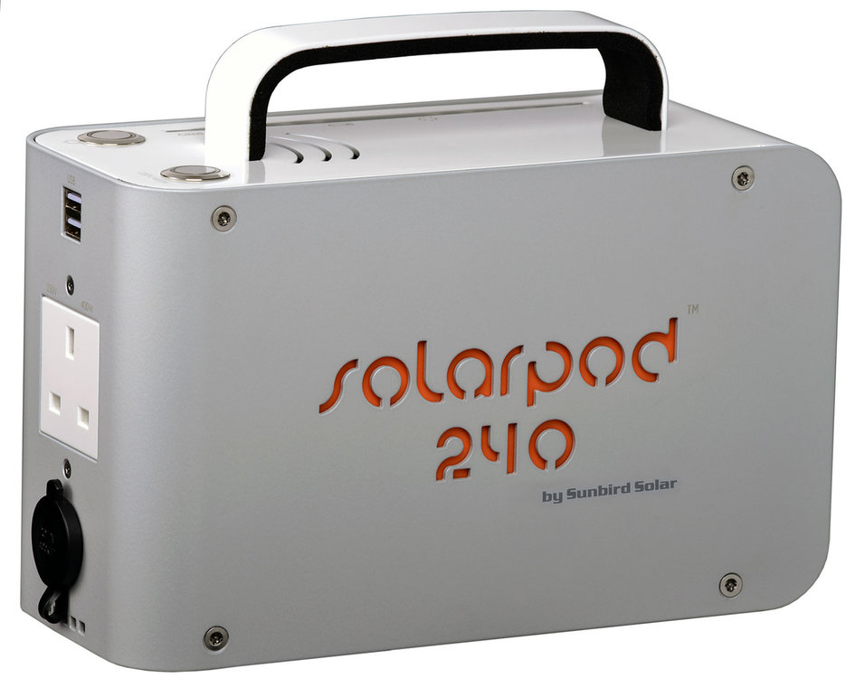 Solarpod 240 Solar Generator