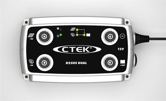 CTEK D250S DUAL - 12 Volt 20 Ampère Acculader