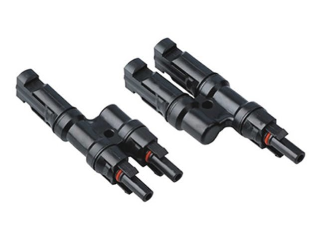 Solarconnector MC4-Y, male / fermale