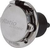 Walstroom stopcontact contactdoos CE r.v.s. 16A 250 Volt_