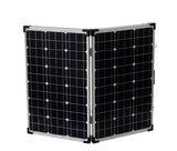 Complete set 2x 30W Vouwbaar zonnepaneel incl regelaar en beschermtas_