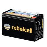 Rebelcell 12v 18Ah Angling li-ion Accu met li-ion 4A acculader_