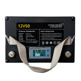 Rebelcell 12v 50Ah Angling li-ion Accu met li-ion 8A acculader_