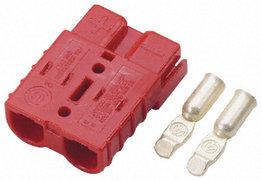 Rode Anderson stekker connector 50 Ampère | 6mm2 kabel