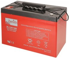 Zenith 12 volt 110Ah AGM - Deep Cycle Accu