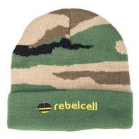 Rebelcell Beanie camoprint muts