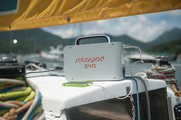 Set Solarpod 240 met 65W vouwbaar paneel