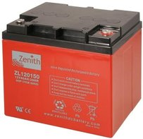 Zenith 12 volt 40Ah AGM - Deep Cycle Accu