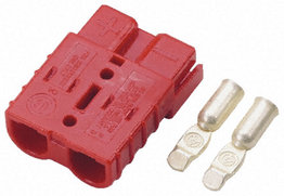 Rode Anderson stekker connector 50 Ampère | 16mm2 kabel dikte