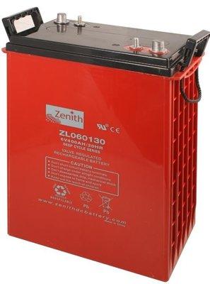 Zenith 6 volt 400Ah AGM - Deep Cycle Accu