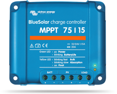 Victron Blue Solar MPPT 12/24 V 15A laadregelaar | 75-15