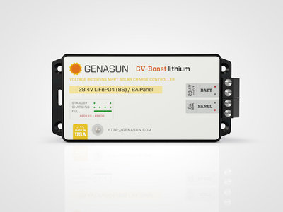 Genasun GV-Boost 8/28 Li (lithium)