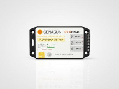 Genasun GV-5 MPPT Li (lithium)