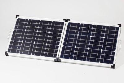 60 Watt opvouwbaar en draagbaar zonnepaneel van Solarpod