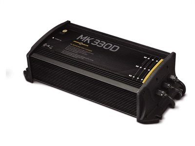 MK-330E inbouw acculader 3x 10A Minn Kota