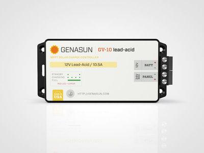 Genasun GV-10 MPPT Pb (lood)
