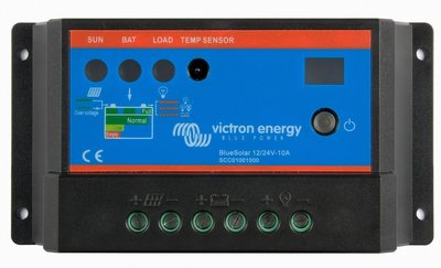Victron Blue Solar laadregelaar 12 - 24 Volt -10 Ampère