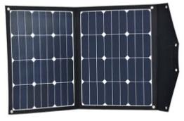 Draagbaar zonnepaneel 2x 40 Watt