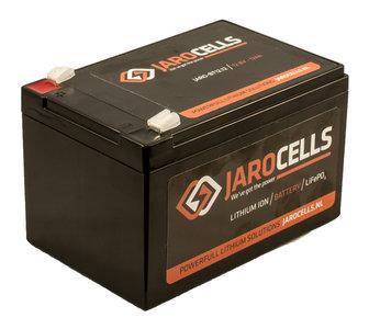 JARO-BT12.12 Jarocells 12V 12A Lithium accu