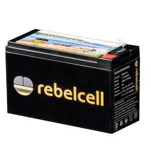 Rebelcell 12 volt 18Ah Angling li-ion Accu