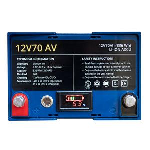 Rebelcell 12V70V lithium accu