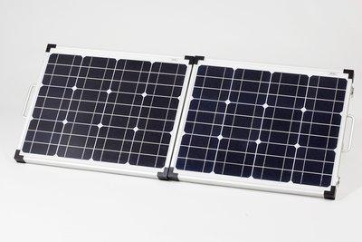Complete set 60 Watt opvouwbaar zonnepaneel, laadregelaar + bekabeling