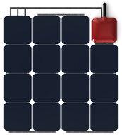 Solbian ALLinONE SP47Q flexibel zonnepaneel met ingebouwde acculader