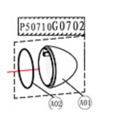 Motor front cover - P50710G0702