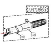Handvat- P50710G02 voor de Protruar 2.0