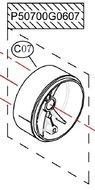 Rotor Shafr holder - P50700G0607