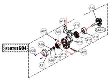 Kit foldingknob - P50701G04