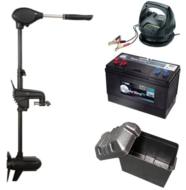 Complete Set Haswing Protruar 1pk met accu, lader, accubak & zekering